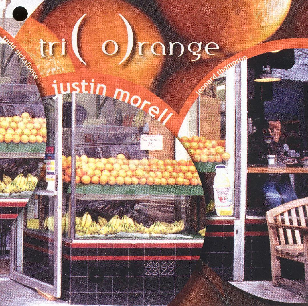 JUSTIN MORELL - Triorange cover