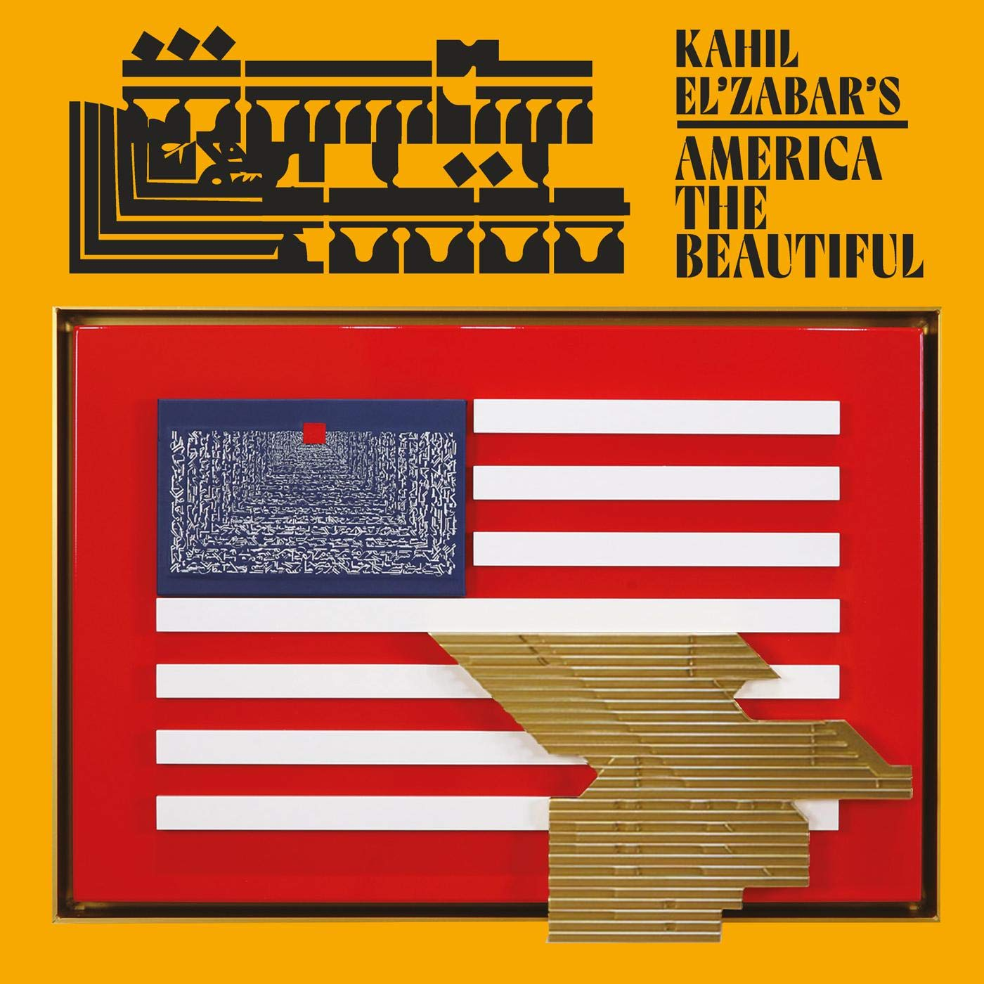 KAHIL ELZABAR - Kahil ElZabars America The Beautiful cover