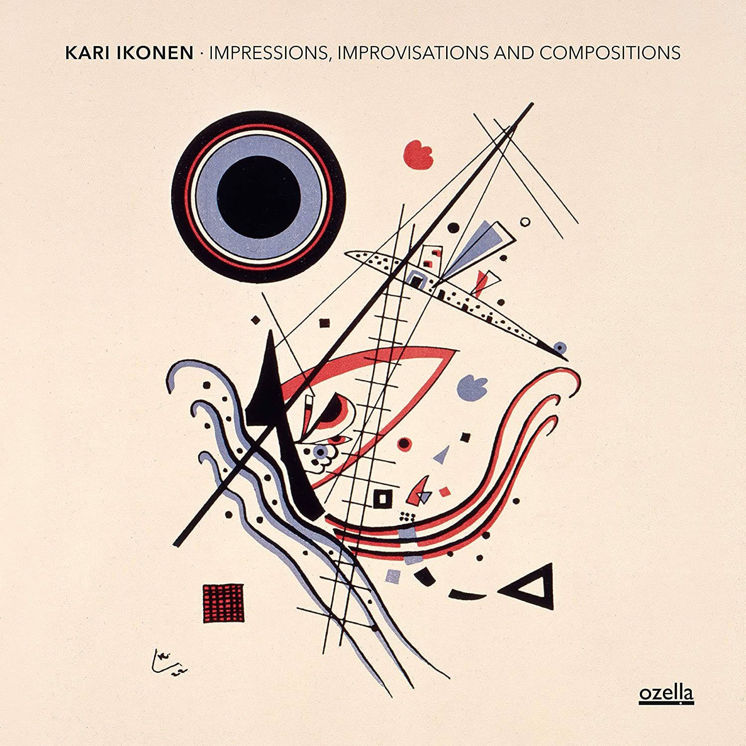 KARI IKONEN - Impressions, Improvisations And Compositions cover