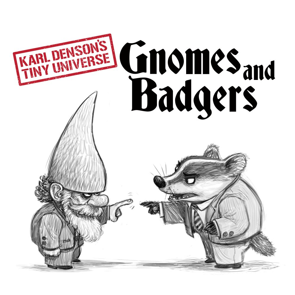 KARL DENSON - Gnomes And Badgers cover