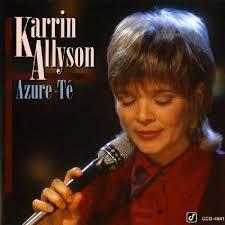 KARRIN ALLYSON - Azure-Té cover