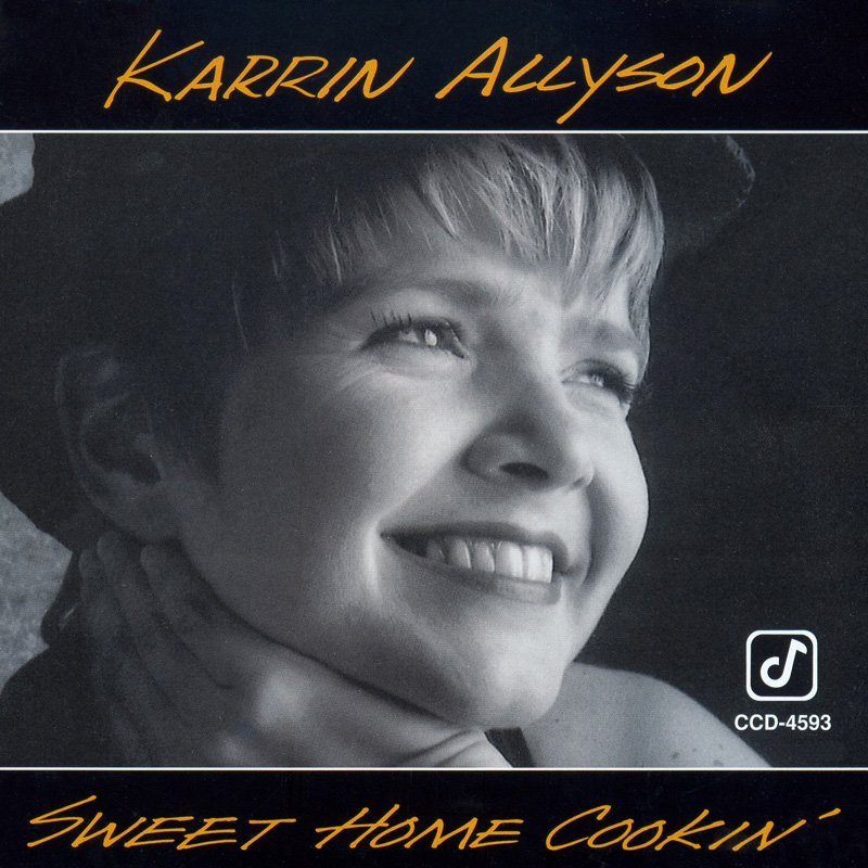 KARRIN ALLYSON - Sweet Home Cookin' cover