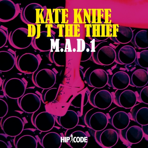 KATE KNIFE - M.a.d. 1 cover