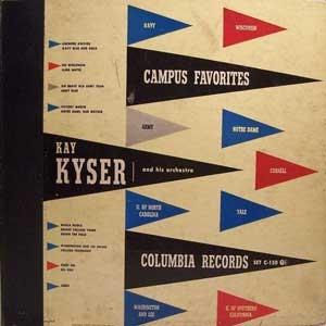KAY KYSER - Campus Favorites cover