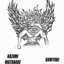 KAZUMI WATANABE - Garuda cover