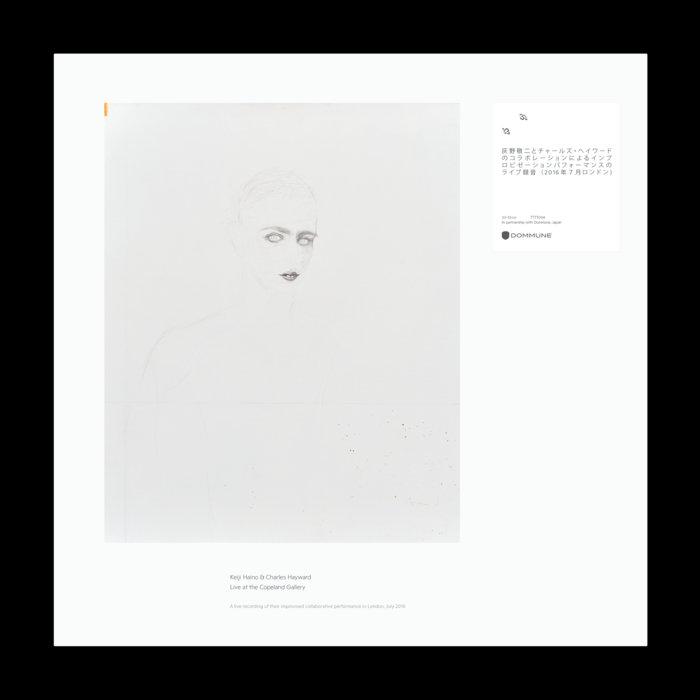 KEIJI HAINO - Keiji Haino & Charles Hayward : A Loss Permitted, To Open One's Eyes… cover