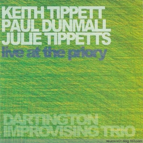 KEITH AND JULIE TIPPETT - Live at the Priory cover