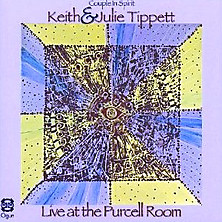 KEITH AND JULIE TIPPETT - Live at the Purcell Room cover