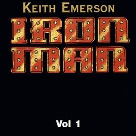 KEITH EMERSON - Iron Man Vol 1 cover