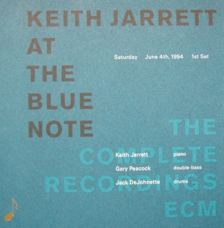 KEITH JARRETT - At The Blue Note, Saturday, June 4th 1994, 1st Set cover