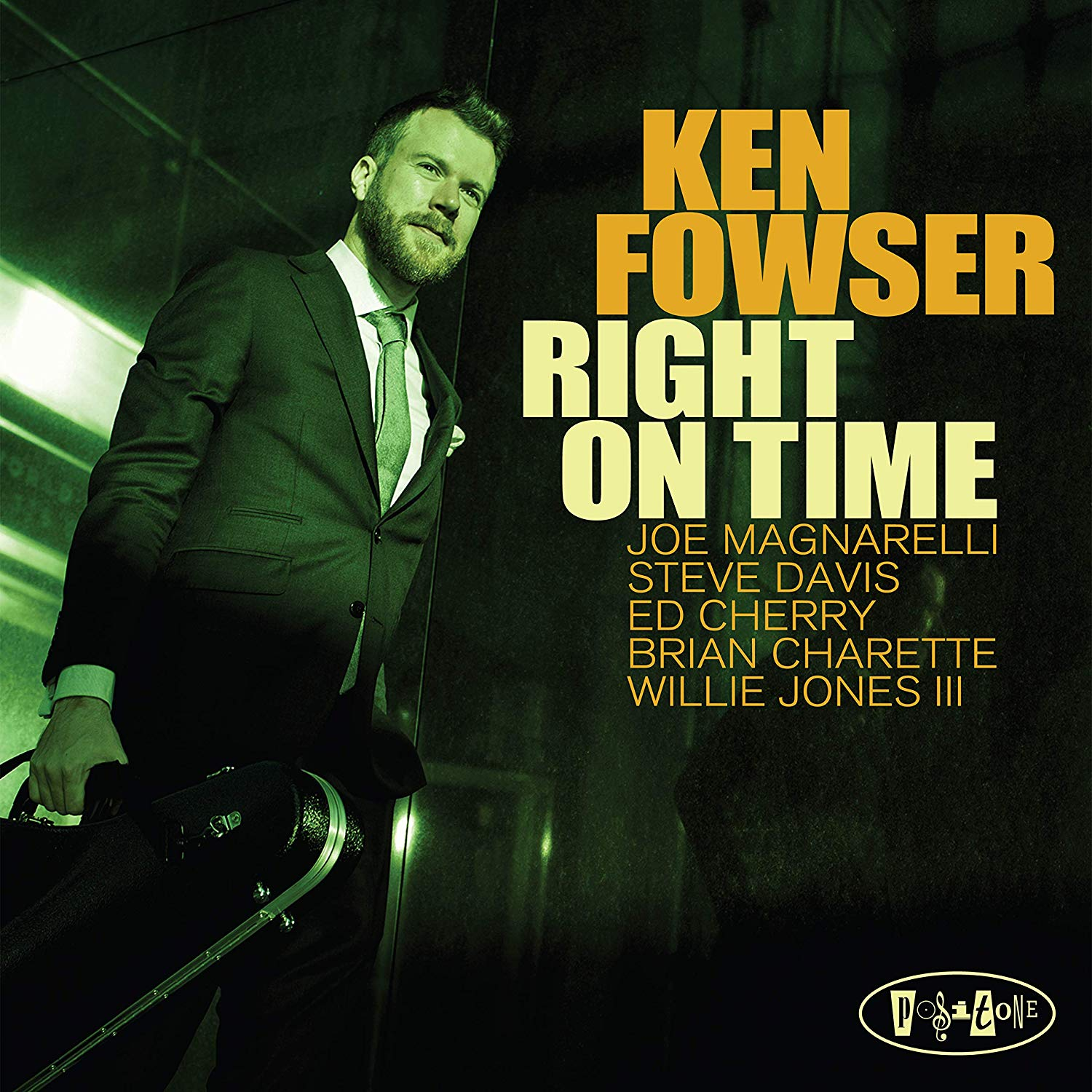 KEN FOWSER - Right On Time cover