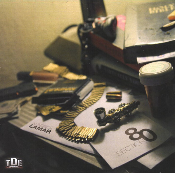 KENDRICK LAMAR - Section 80 cover