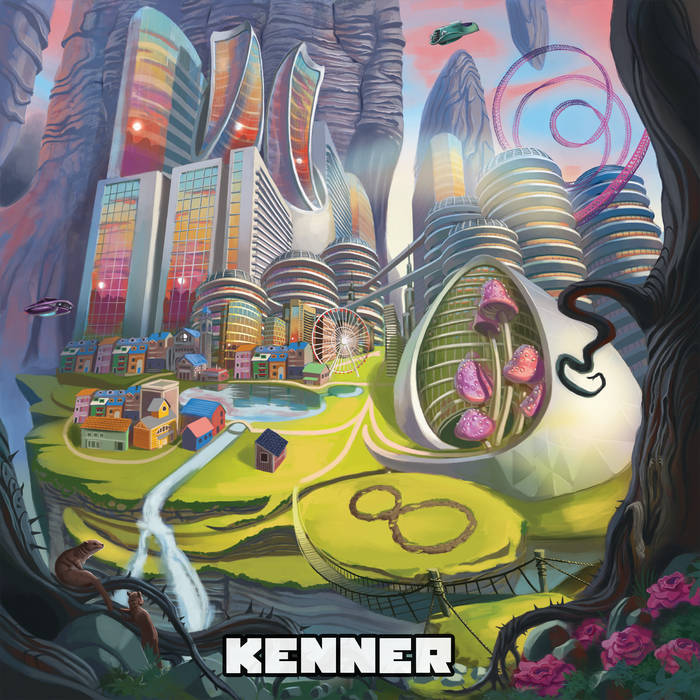 KENNER - 8Ball City cover