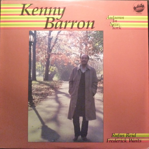KENNY BARRON - Autumn In New York (aka New York Attitude) cover