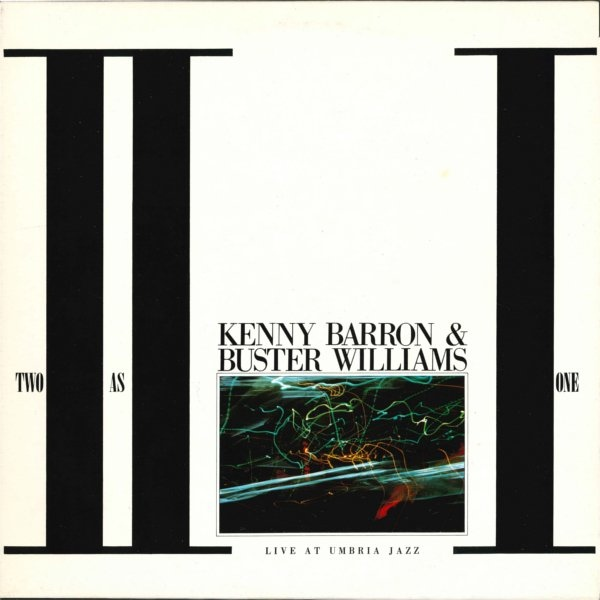 KENNY BARRON - Kenny Barron & Buster Williams : Two As One - Live At Umbria Jazz cover