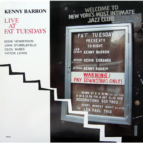 KENNY BARRON - Live at Fat Tuesdays cover