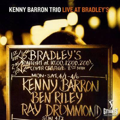 KENNY BARRON - Live at Bradley's cover