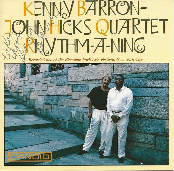 KENNY BARRON - Rhythm-A-Ning cover