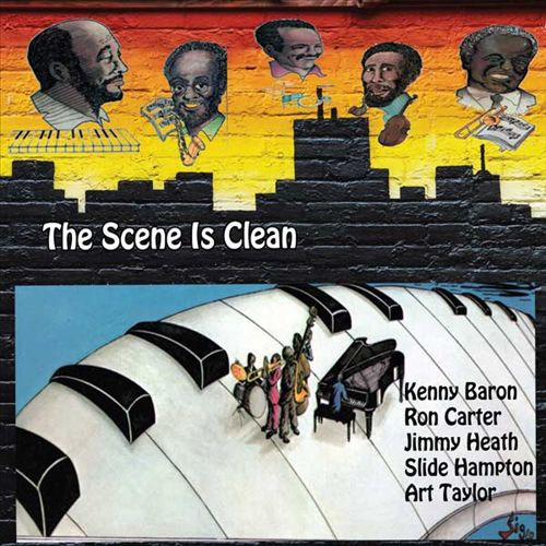 KENNY BARRON - The Scene Is Clean cover