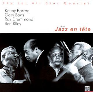 KENNY BARRON - The Jet All Star Quartet : Live At Jazz en Tête cover