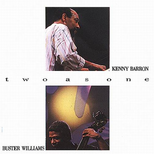 KENNY BARRON - Two As One cover