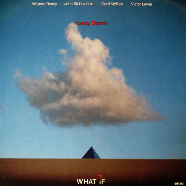 KENNY BARRON - What If? cover