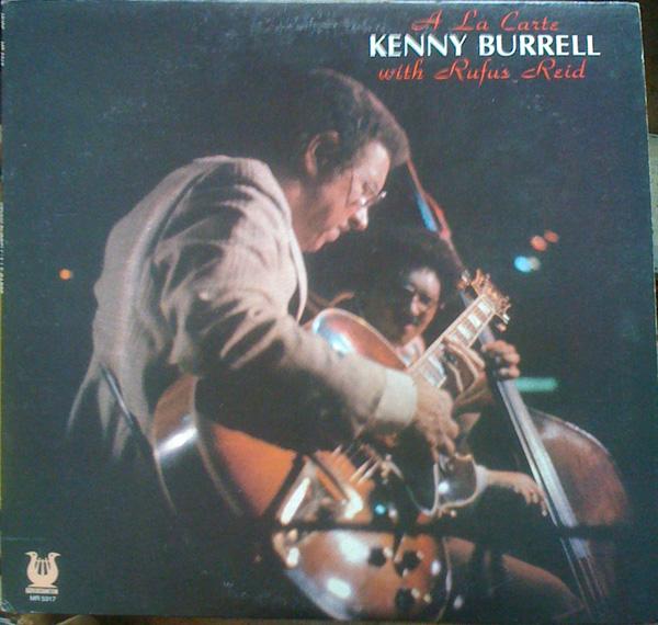 KENNY BURRELL - A La Carte cover