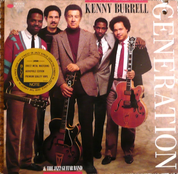 KENNY BURRELL - Generation cover