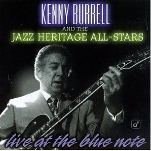 KENNY BURRELL - Live at the Blue Note cover