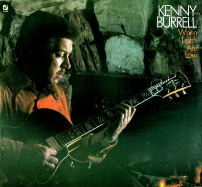 KENNY BURRELL - When Lights Are Low cover