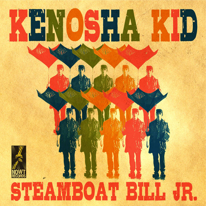 KENOSHA KID - Steamboat Bill Jr. cover