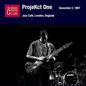 KING CRIMSON - Jazz Cafe, London, England (12/02/97) cover