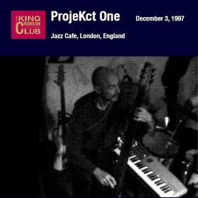 KING CRIMSON - Jazz Cafe, London, England (12/03/97) cover