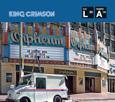 KING CRIMSON - Live At The Orpheum cover