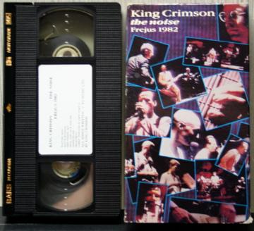 KING CRIMSON - The Noise Frejus 1982 cover