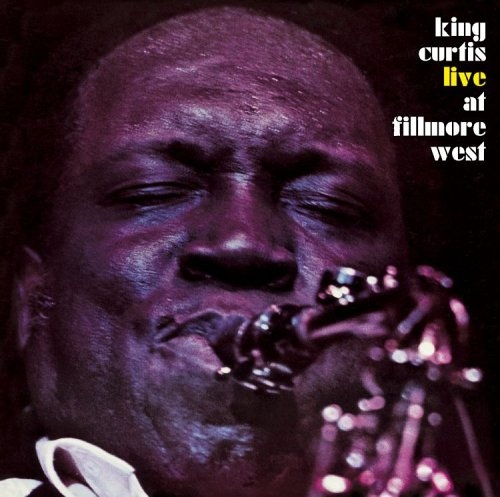 KING CURTIS - Live at Fillmore West cover