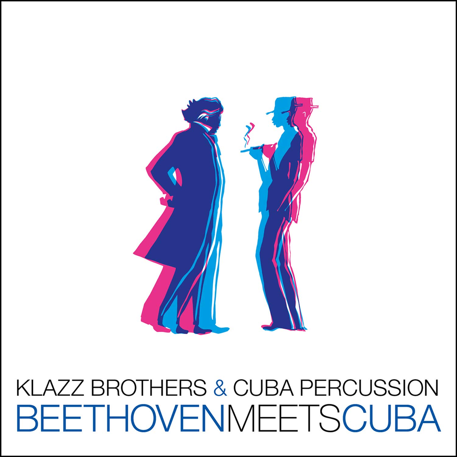KLAZZ BROTHERS - Klazz Brothers & Cuba Percussion : Beethoven Meets Cuba cover