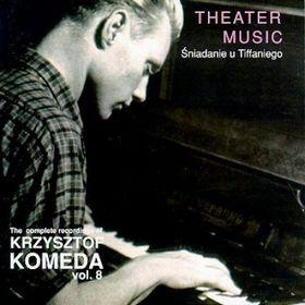 KRZYSZTOF KOMEDA - The Complete Recordings of Krzysztof Komeda: Vol. 8 - Śniadanie u Tiffaniego (1965) cover