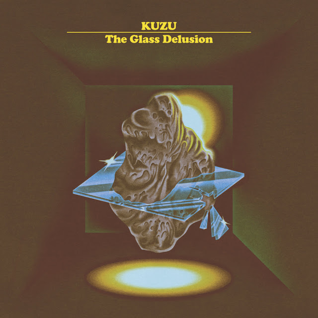 KUZU (DAVE REMPIS / TASHI DORJI / TYLER DAMON) - The Glass Delusion cover