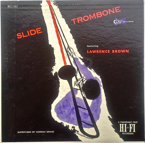 LAWRENCE BROWN - Slide Trombone Featuring Lawrence Brown cover
