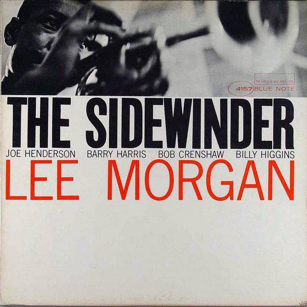 LEE MORGAN - The Sidewinder cover
