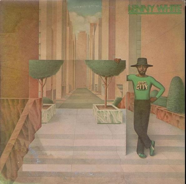 LENNY WHITE - Big City cover