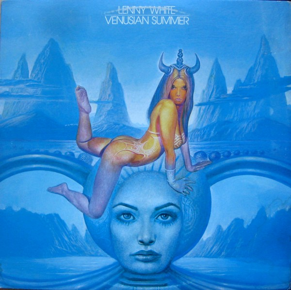LENNY WHITE - Venusian Summer cover