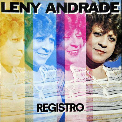 LENY ANDRADE - Registro cover