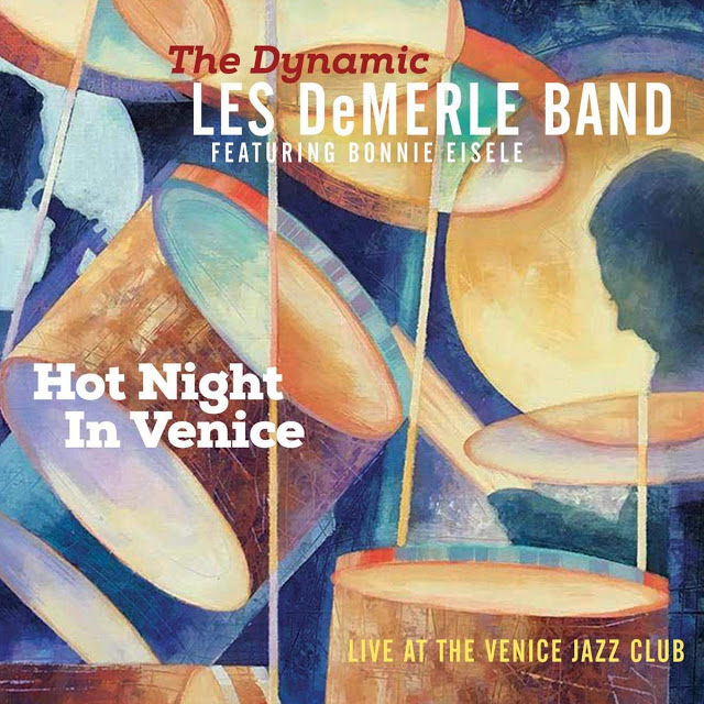 LES DEMERLE - Hot Night In Venice: Live at the Venice Jazz Club cover