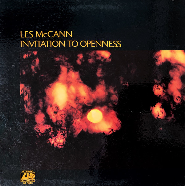 LES MCCANN - Invitation to Openness cover