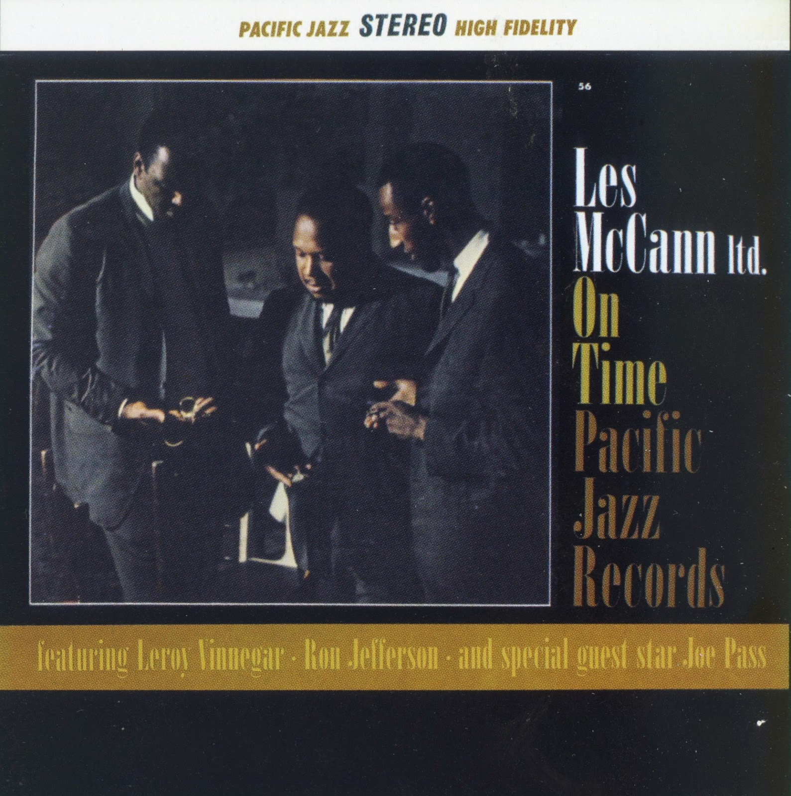 LES MCCANN - On Time cover
