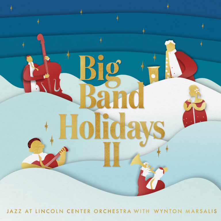 THE JAZZ AT LINCOLN CENTER ORCHESTRA / LINCOLN CENTER JAZZ ORCHESTRA - Big Band Holidays II cover