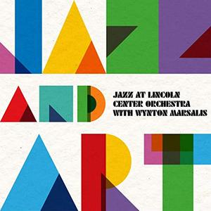 LINCOLN CENTER JAZZ ORCHESTRA / THE JAZZ AT LINCOLN CENTER ORCHESTRA - Jazz at Lincoln Center Orchestra & Wynton Marsalis : Jazz and Art cover