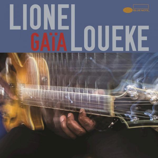 LIONEL LOUEKE - Gaia cover